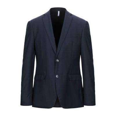 DOMENICO TAGLIENTE テーラードジャケット ダークブルー 50 ポリエステル 65% / レーヨン 35% テーラードジャケット