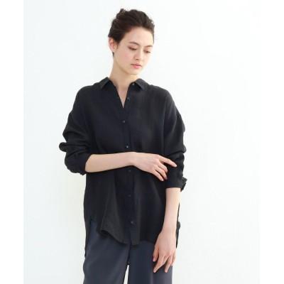 INDIVI(インディヴィ) 「S」ラミーボイルチュニックシャツ