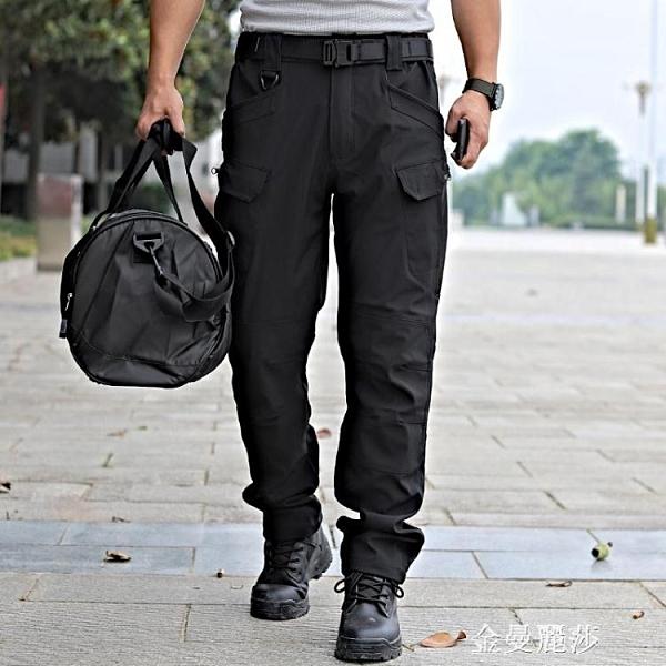 戰術褲男迷彩工裝褲春夏ix7速干作訓褲戶外特種兵執政官長褲寬鬆 極簡雜貨
