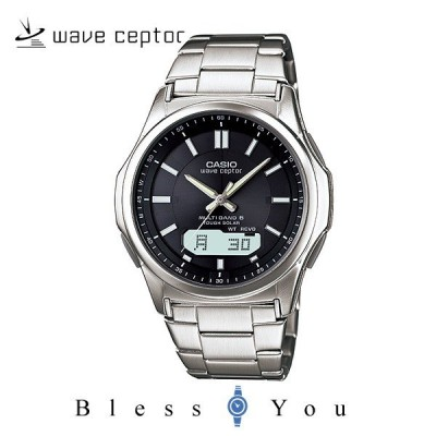 【18日19日は倍々ストア】メンズ腕時計 父の日 カシオ 電波ソーラー 腕時計 メンズ ウェーブセプター WVA-M630D-1AJF メンズウォッチ