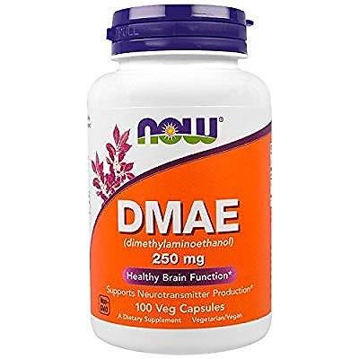 Now Foods DMAE 250mg 100カプセル [並行輸入品]