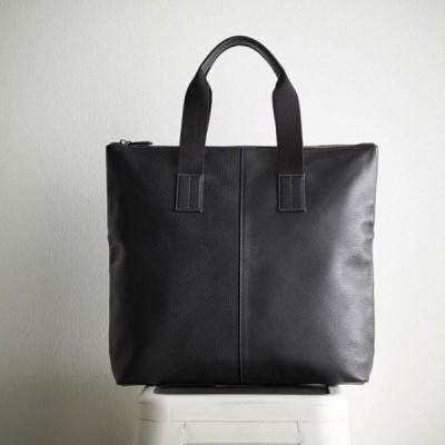 良品工房 日本製牛革手作りメンズトートバッグ/ブラック(日本製 バッグ(メンズ))(内祝い 結婚内祝い 出産内祝い 結婚祝い 引き出物 お返し)