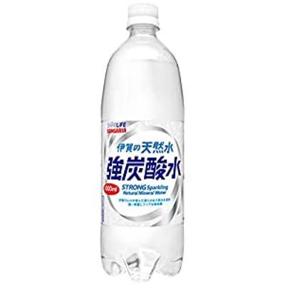 [Amazon限定ブランド] SHINE LIFE 伊賀の天然水 強炭酸水 1L×12本