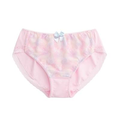 グラマープリンセス ぼかしプリントペアショーツ同色2枚組(3L) スタンダードショーツ, Panties