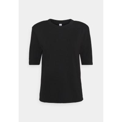 ウォンハンドレッド レディース Tシャツ トップス CORA - Basic T-shirt - black black