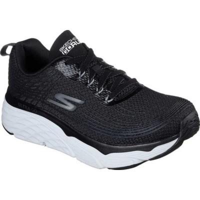 スケッチャーズ レディース スニーカー シューズ Max Cushioning Elite Running Shoe Black/White