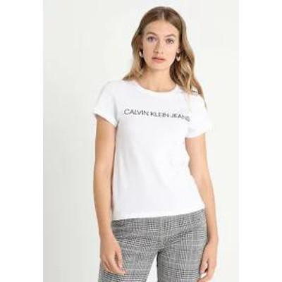 Calvin Klein Jeans レディーストップス Calvin Klein Jeans INSTITUTIONAL LOGO