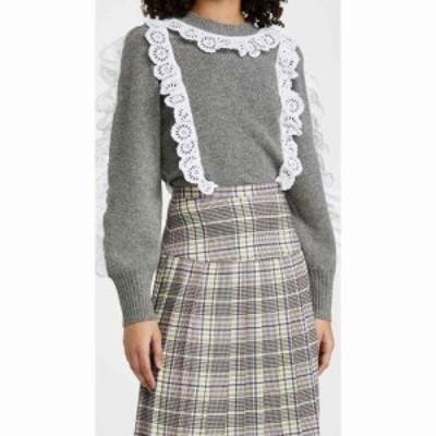 シー Sea レディース ニット・セーター トップス Elodie Sweater Grey/Ivory