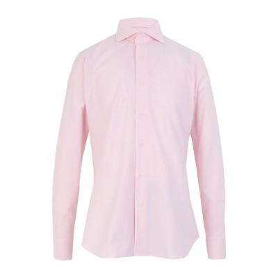 カリバン CALIBAN シャツ ピンク 40 コットン 97% / ポリウレタン 3% シャツ