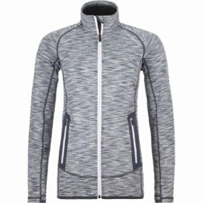 オルトボックス Ortovox レディース フリース トップス Fleece Space Dyed Jacket Grey Blend