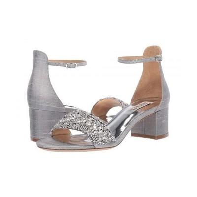 Badgley Mischka バッジリーミシュカ レディース 女性用 シューズ 靴 ヒール Liz - Silver Indian Silk