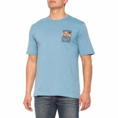 ジーエイチ バス G.H. Bass and Co. メンズ Tシャツ トップス Wild Times Graphic T-Shirt - Short Sleeve Blue Heaven Heather