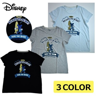 Disneyディズニー 半袖Tシャツ(M・LL・3Lサイズ)レディース