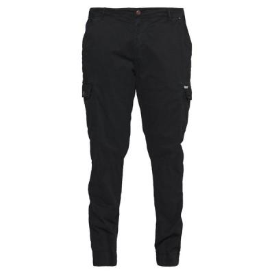 ブレンド カジュアルパンツ メンズ ボトムス Cargo trousers - black