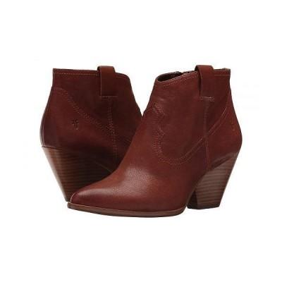 Frye フライ レディース 女性用 シューズ 靴 ブーツ アンクル ショートブーツ Reina Bootie - Cognac