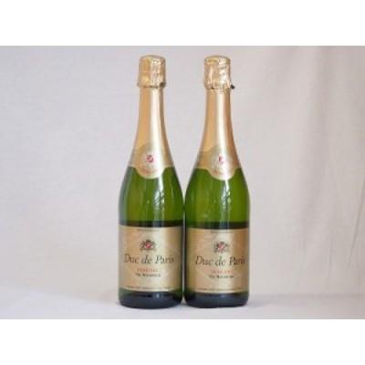デュック ド パリ ドミセック Duc De Paris DEMI-SECスパークリングワイン やや甘口泡 (フランス)750ml×2