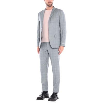 NINO DANIELI スーツ ライトグレー 50 バージンウール 100% スーツ
