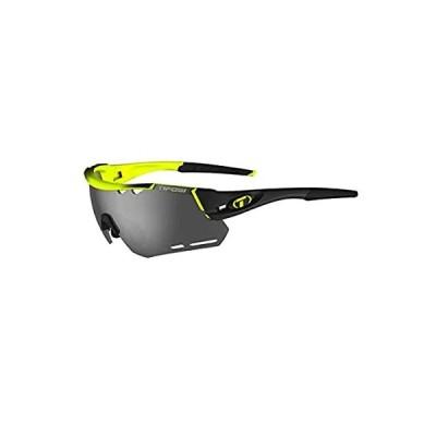 Tifosi Optics Alliant Sunglasses Race Neon/Smoke/AC Red/Clear, One Size - M