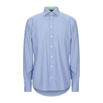 ETON シャツ ブルー 38 コットン 100% シャツ