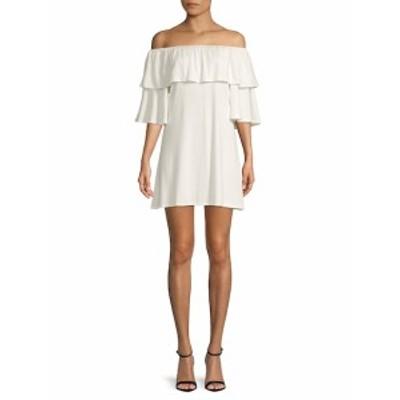 レイチェルパリー レディース ワンピース Kylian Off-The-Shoulder Mini Dress