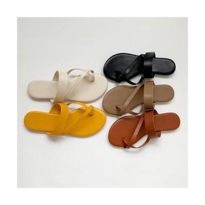 AWAB レディース サンダル Cross-match slippers