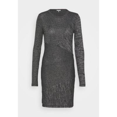 ラグアンドボーン ワンピース レディース トップス THE TONAL BLOCKED DRESS - Shift dress - black
