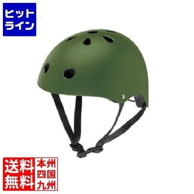 幼児用ヘルメット XSサイズ (マットカーキ) 234-03004