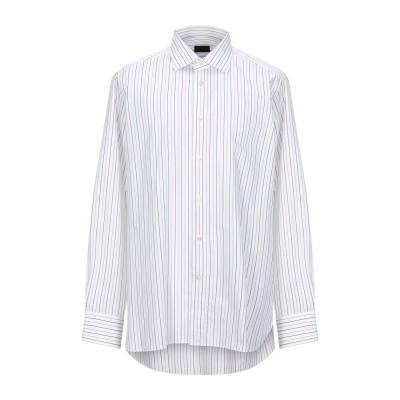 エルメネジルド ゼニア ERMENEGILDO ZEGNA シャツ ホワイト 44 コットン 100% シャツ