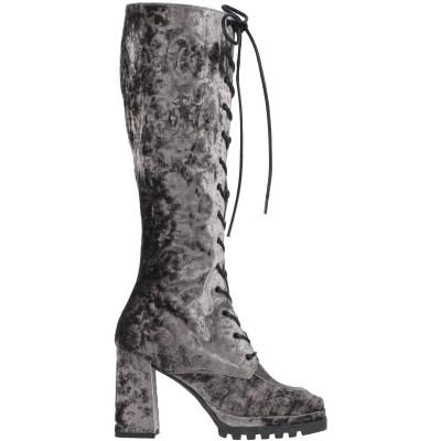 MINA BUENOS AIRES ブーツ グレー 37 紡績繊維 ブーツ