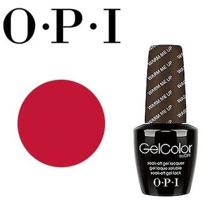ジェルネイル セルフ カラージェル (OPI オーピーアイ) ジェルカラー バイ オーピーアイ(ビッグ アップル レッド)N25