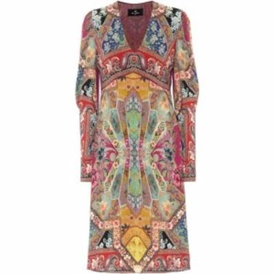 エトロ Etro レディース ワンピース ミドル丈 ワンピース・ドレス printed midi dress