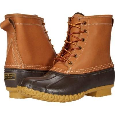 エルエルビーン L.L.Bean レディース ブーツ シューズ・靴 8' Bean Boots GORE-TEX/Thinsulate(TM) Tan/Brown