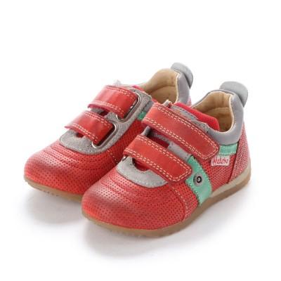 ヨーロッパコンフォートシューズ EU Comfort Shoes Narurino  ベビーローカットスニーカー (レッド)