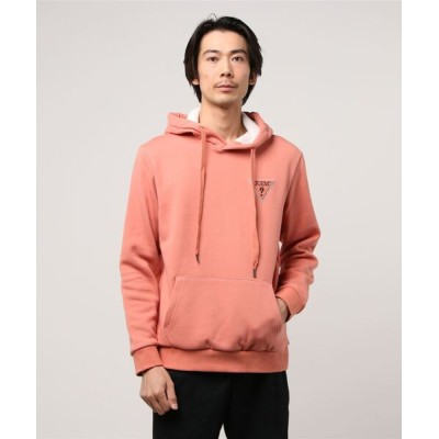 GUESS / Small Triangle logo Hooded Parka MEN トップス > パーカー