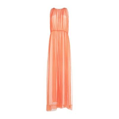 .AMEN. ロングワンピース&ドレス オレンジ 46 ナイロン 100% ロングワンピース&ドレス