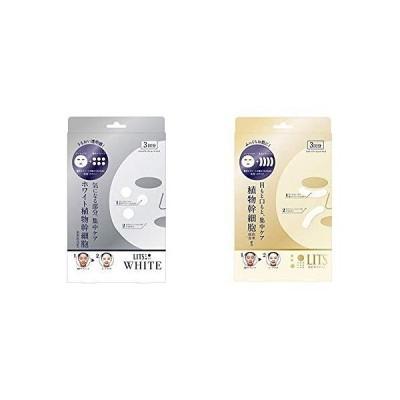 セット買いリッツ ホワイト ステム ブライトショット フェイスマスク 3回分 & リバイバル ステムパワーショット フェイス シートマスク