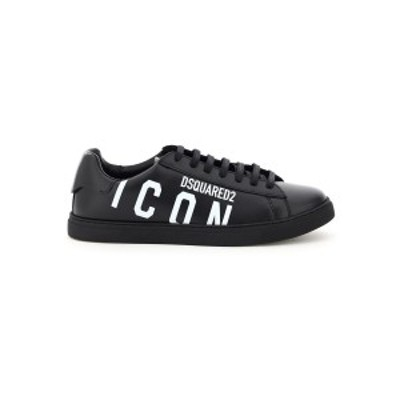 DSQUARED2/ディースクエアード Mixed colours Dsquared2 icon logo new tennis leather sneakers メンズ 秋冬2020 SNM0005 01503204 ik