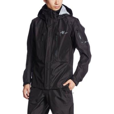 [フォックスファイヤー] 防水ジャケット ストーミーDSジャケット メンズ ブラック S