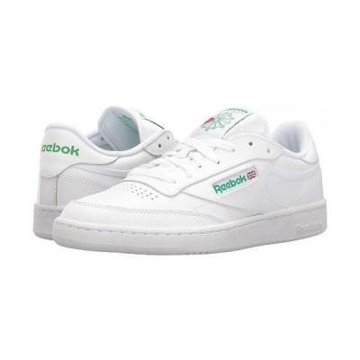 Reebok Lifestyle リーボック メンズ 男性用 シューズ 靴 スニーカー 運動靴 Club C 85 - Int/White/Green