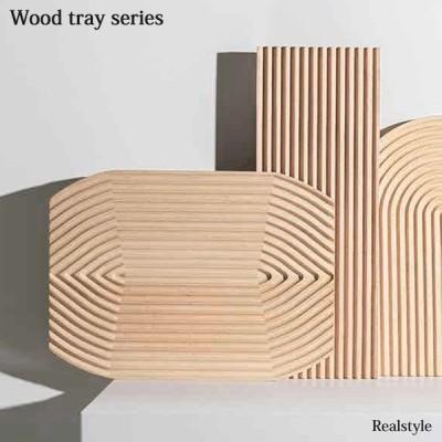 ウッドトレイ トレー おしゃれ 北欧 木製 ナチュラル インテリア ディスプレイ 飾り カフェ かわいい wood 雑貨 小物置き