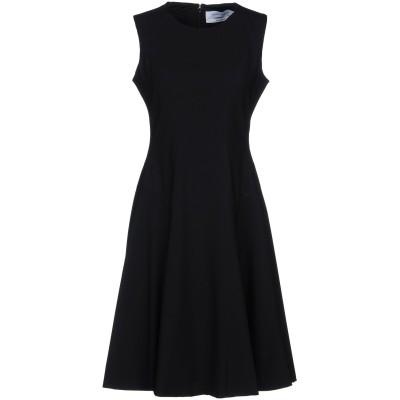 プラバル・グルン PRABAL GURUNG ミニワンピース&ドレス ブラック 8 ウール 96% / ポリウレタン 4% ミニワンピース&ドレス