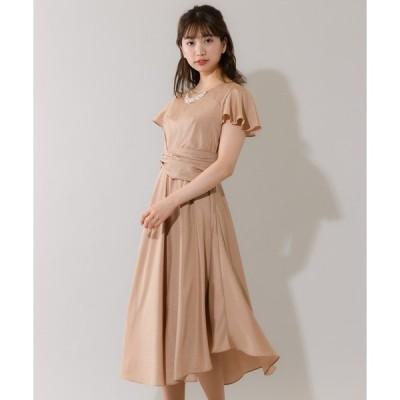 ドレス イレヘムロングドレス(0R04-71627)