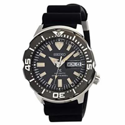 腕時計  SEIKO Prospex Monster Diver's 200M ブラックダイヤル シリコンストラップウォッチ SRPD27K1