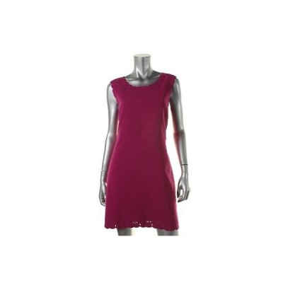 ダイアンフォンファステンバーグ ドレス ワンピース Diane Von Furstenberg 2881 レディース Caralyn パープル Wear to Work ドレス 8 BHFO