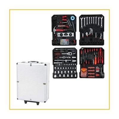 【☆送料無料☆新品・未使用品☆】186Pcs Trolley Case Tool Set, Household Pliers Wrench Hardware Repair Screwdriver Kit, Mecha