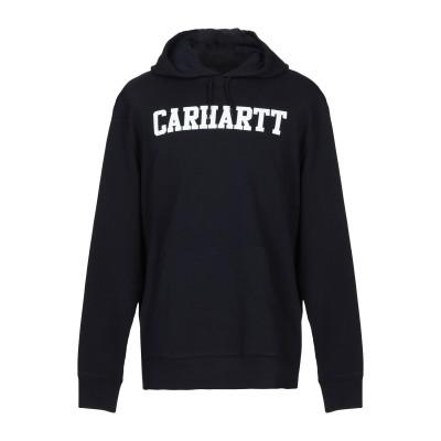 カーハート CARHARTT スウェットシャツ ダークブルー XS 100% コットン スウェットシャツ
