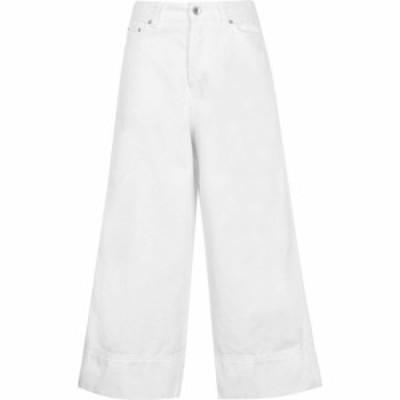 モンキージーンズ Monkee Genes レディース ジーンズ・デニム ボトムス・パンツ Skate Cropped Jeans Ecru