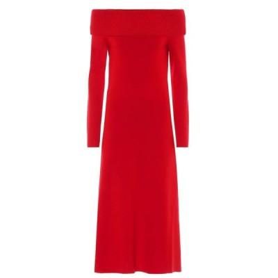 ガブリエラ ハースト Gabriela Hearst レディース ワンピース ワンピース・ドレス Judy wool-blend dress Red