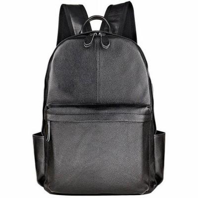 本革 牛革バックパック カバン メンズ ビジネスバッグ 大容量 ビジネスリュック 通勤バッグ リュック リュックサック USB充電ポート PC タブレット
