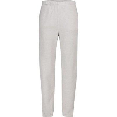レス ティエン Les Tien レディース スウェット・ジャージ ボトムス・パンツ classic cotton fleece trackpants Heather Grey